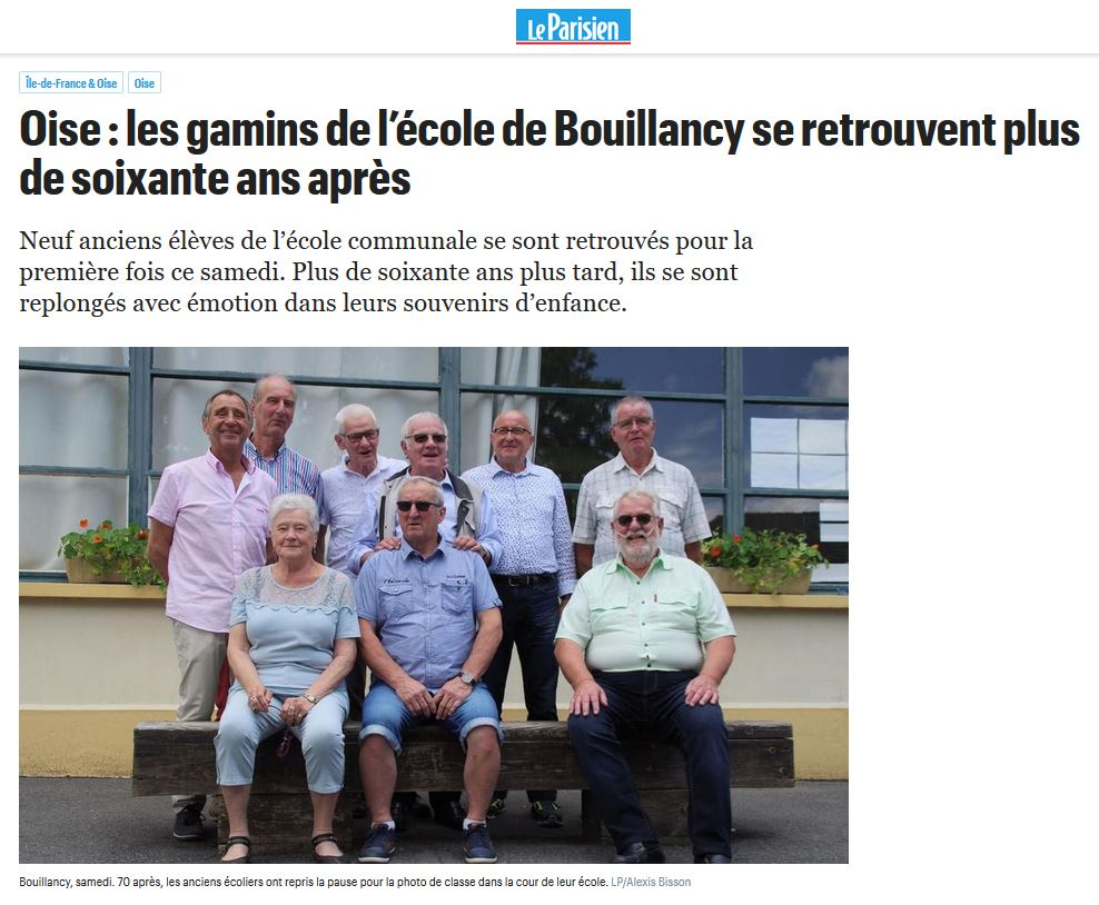 Image de l'article de presse sur LeParisien